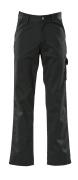 00299-430-09 Bukser med lårlommer - sort