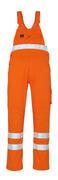 00469-860-14 Overall med knælommer - hi-vis orange