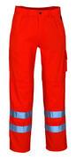 00479-860-14 Bukser med knælommer - hi-vis orange