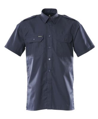 00503-230-01 Skjorte, kortærmet - marine