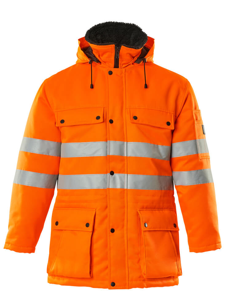 00510-660-14 Parka - hi-vis orange