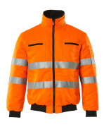 00516-660-14 Pilotjakke - hi-vis orange