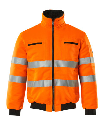 00516-660-14 Pilotjakke - hi-vis orange