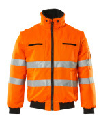 00520-660-14 Pilotjakke - hi-vis orange