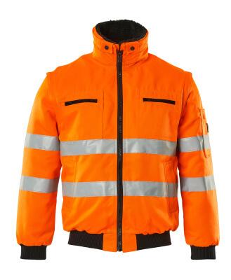 00520-660-14 Pilotjakke - hi-vis orange
