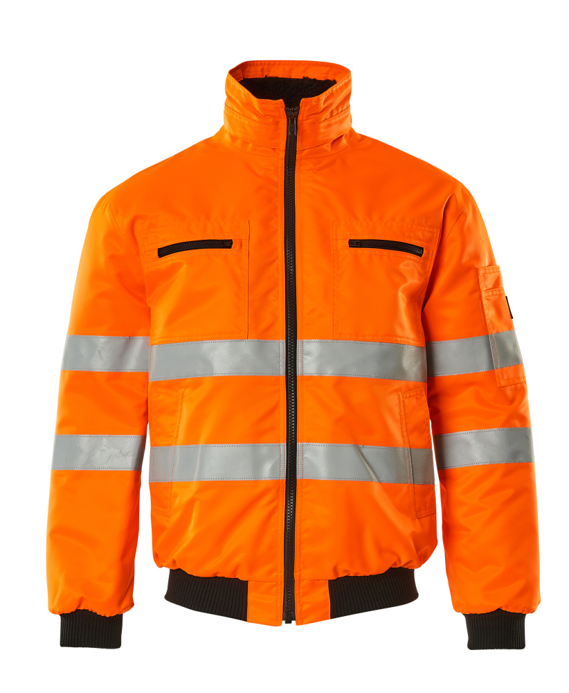 00534-880-14 Pilotjakke - hi-vis orange