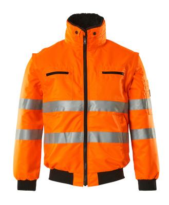 00535-880-14 Pilotjakke - hi-vis orange