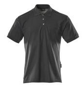 00783-260-010 Poloshirt med brystlomme - mørk marine