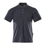00783-260-01 Poloshirt med brystlomme - marine