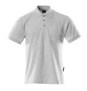 00783-260-08 Poloshirt med brystlomme - grå-meleret