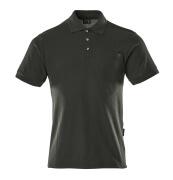 00783-260-09 Poloshirt med brystlomme - sort