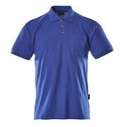 00783-260-11 Poloshirt med brystlomme - kobolt