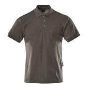 00783-260-18 Poloshirt med brystlomme - mørk antracit