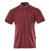 00783-260-22 Poloshirt med brystlomme - bordeaux