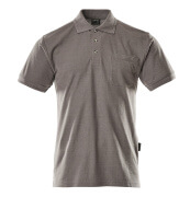 00783-260-888 Poloshirt med brystlomme - antracit