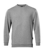 00784-280-08 Sweatshirt - grå-meleret