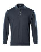 00785-280-010 Polosweatshirt - mørk marine
