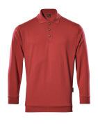 00785-280-02 Polosweatshirt - rød
