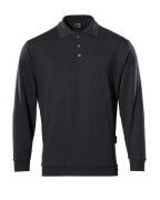 00785-280-09 Polosweatshirt - sort