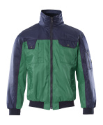 00922-620-31 Pilotjakke - grøn/marine