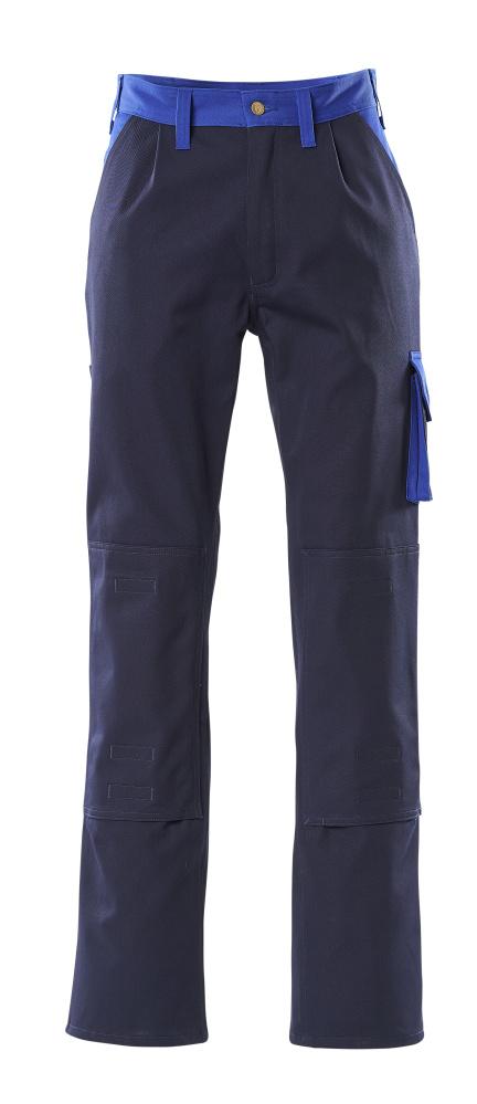 00955-630-111 Bukser med knælommer - marine/kobolt
