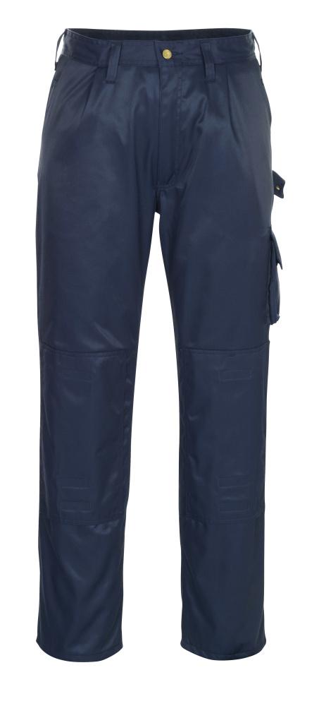 00979-620-01 Bukser med knælommer - marine