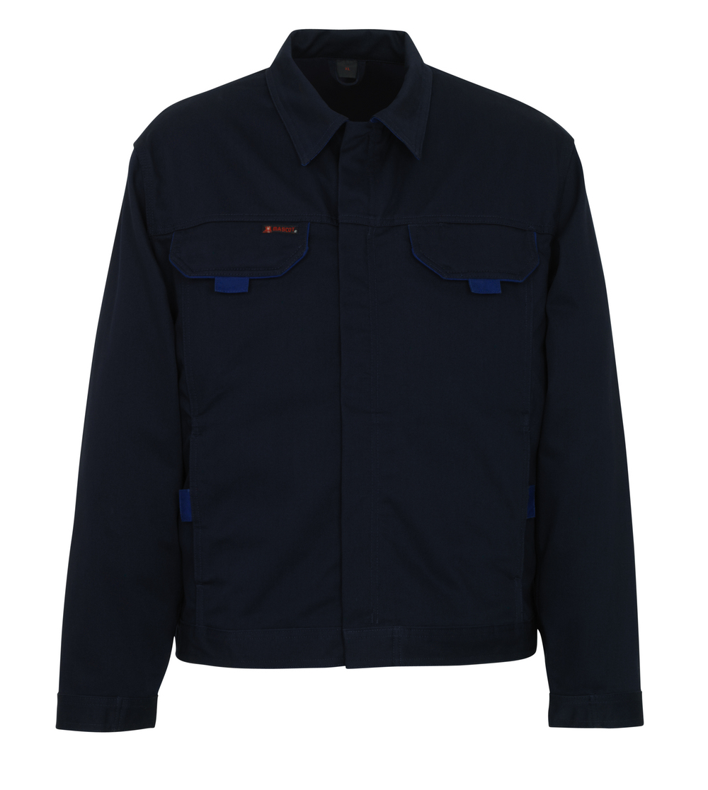04007-630-111 Jakke - marine/kobolt