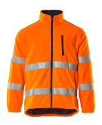 05242-125-14 Fleecejakke - hi-vis orange