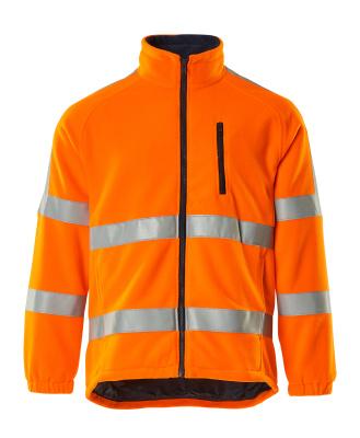 05242-125-14 Fleecejakke - hi-vis orange