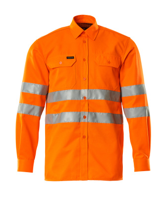 06004-136-14 Skjorte - hi-vis orange