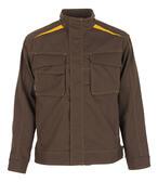 06109-010-50 Jakke - mørk brun