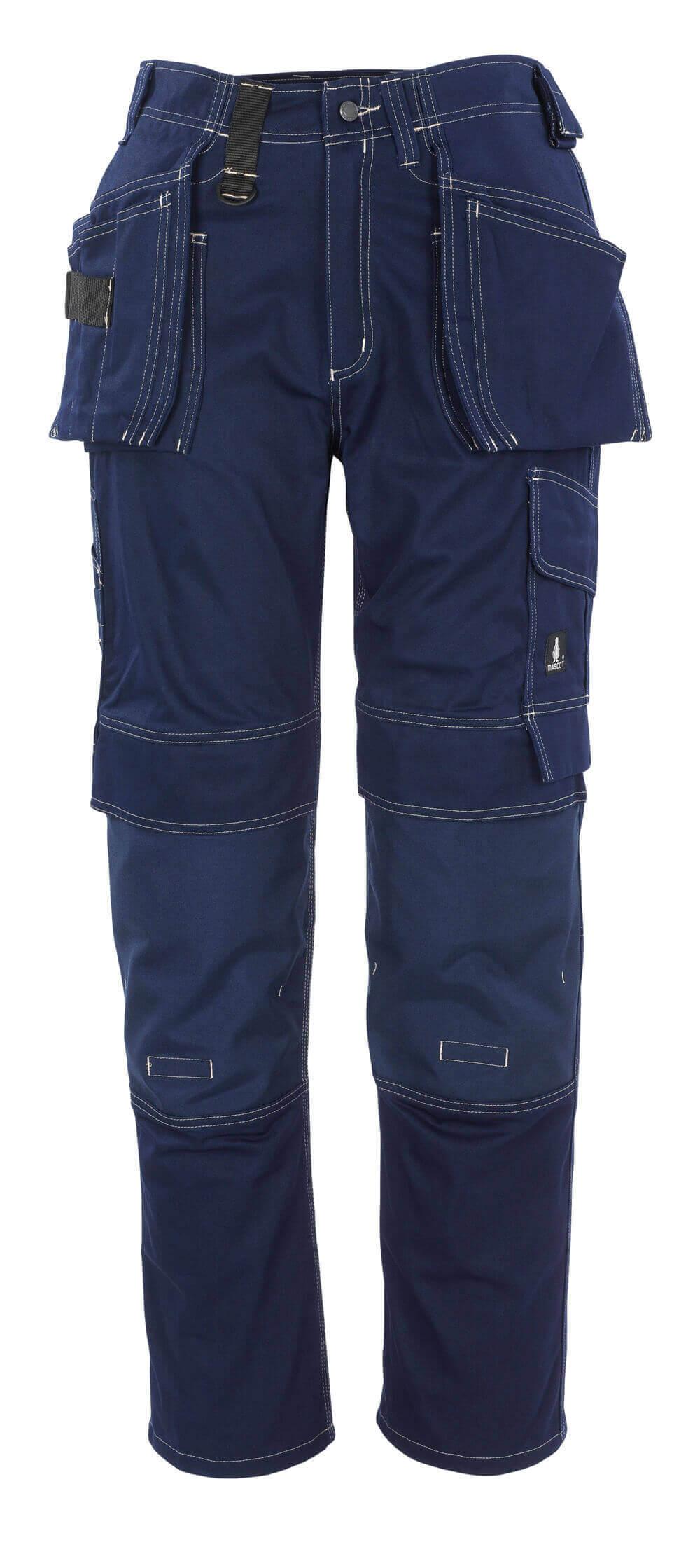 06131-630-01 Bukser med hængelommer - marine