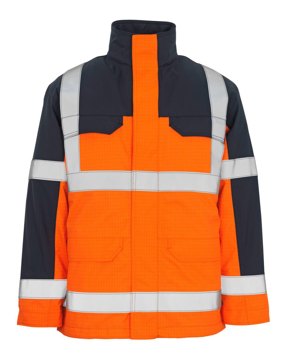 06831-064-141 Parka - hi-vis orange/marine