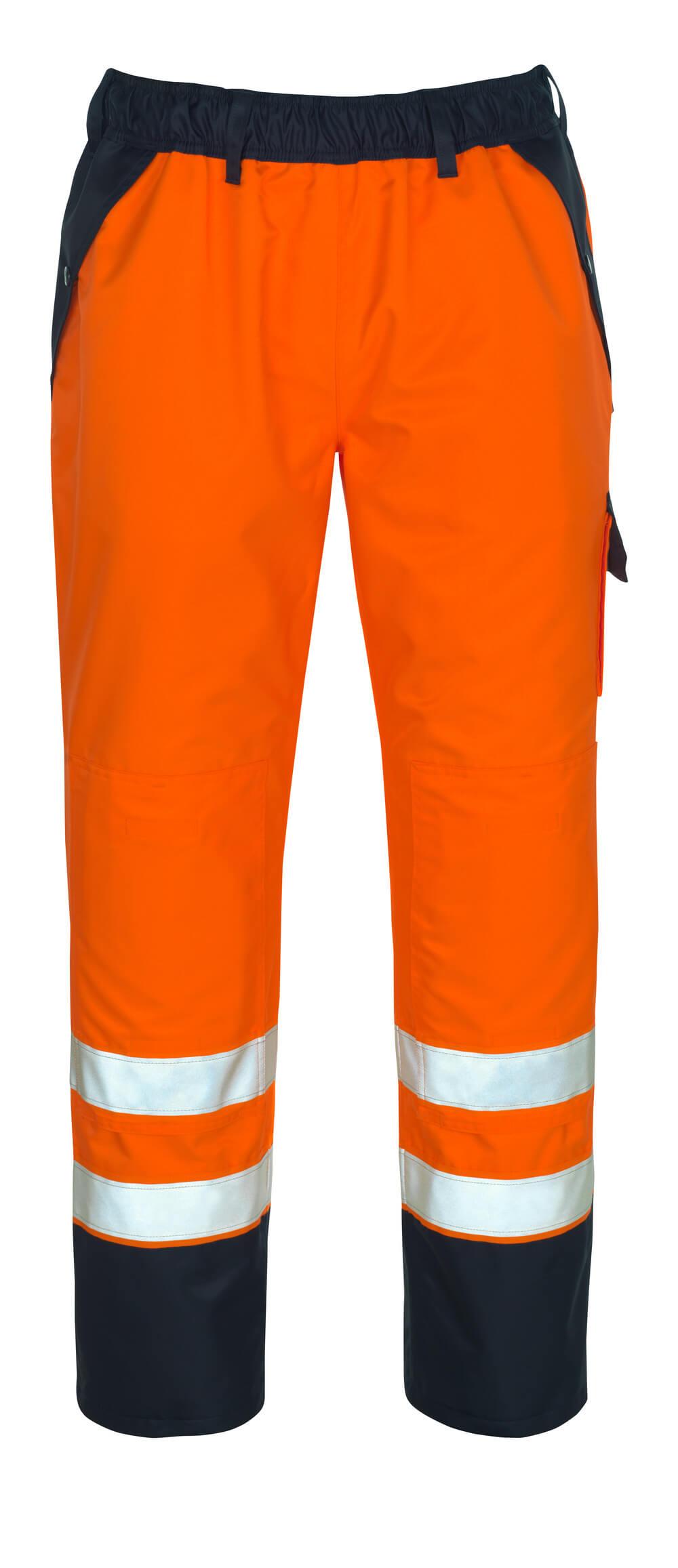 07090-880-141 Overtræksbukser - hi-vis orange/marine