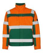 07109-860-1403 Jakke - hi-vis orange/grøn