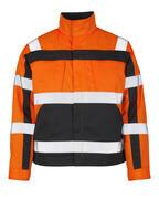 07109-860-14888 Jakke - hi-vis orange/antracit