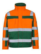 07123-126-1403 Pilotjakke - hi-vis orange/grøn