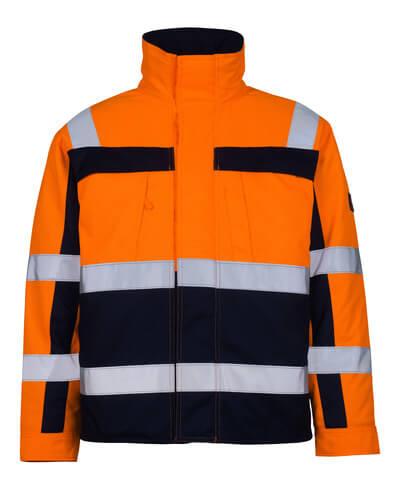 07123-126-141 Pilotjakke - hi-vis orange/marine