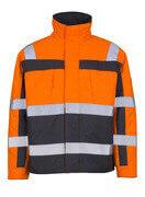 07123-126-14888 Pilotjakke - hi-vis orange/antracit