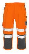 07149-860-14888 Knickers med knælommer - hi-vis orange/antracit