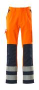 07179-860-141 Bukser med knælommer - hi-vis orange/marine
