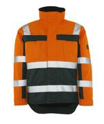07223-880-1403 Vinterjakke - hi-vis orange/grøn