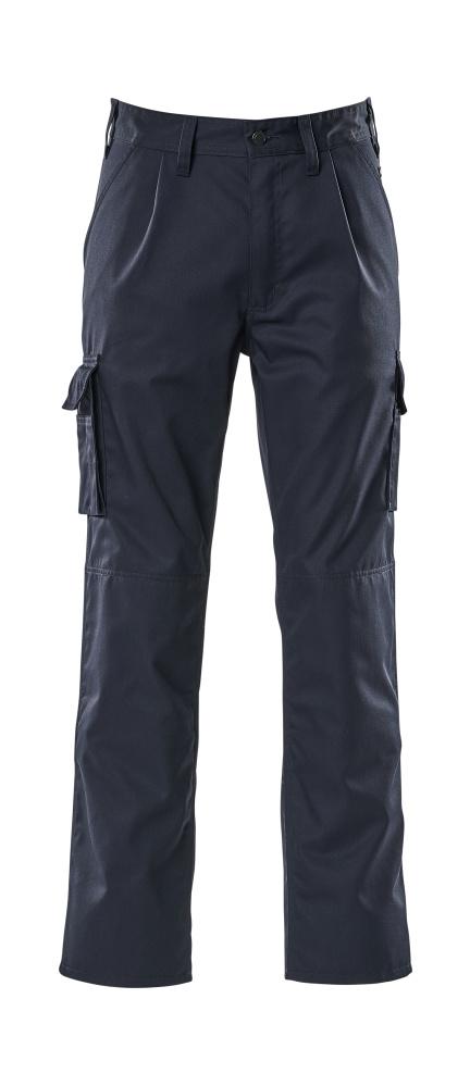 07479-330-01 Bukser med knælommer - marine
