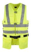 08089-470-17 Værktøjsvest - hi-vis gul