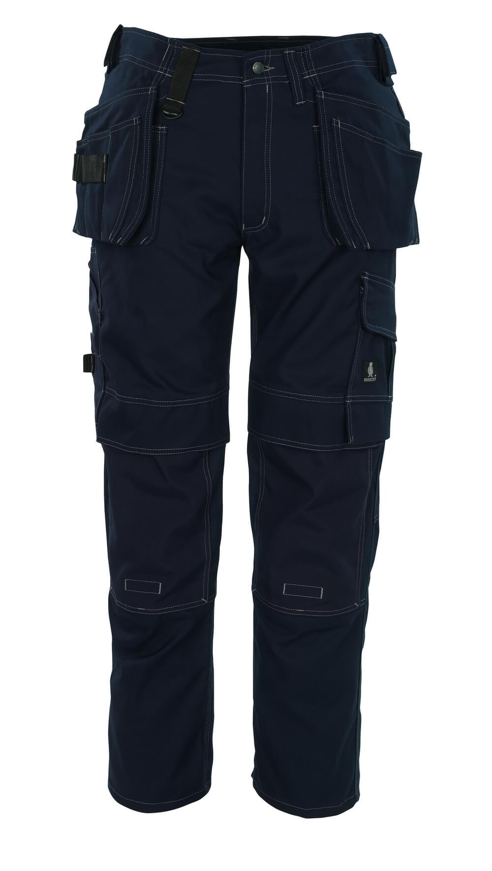 08131-010-01 Bukser med hængelommer - marine