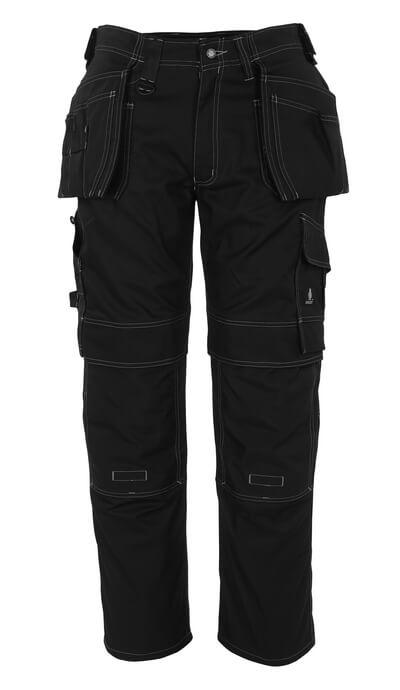08131-010-01 Bukser med knæ- og hængelommer - marine