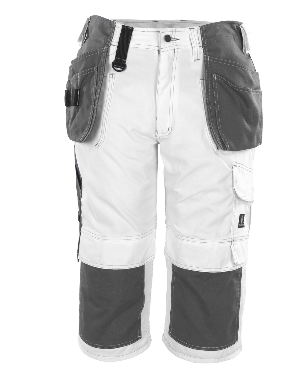 08349-154-06 Knickers med knæ- og hængelommer - hvid