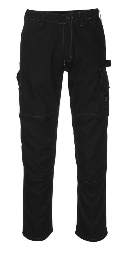 08679-154-09 Bukser med lårlommer - sort