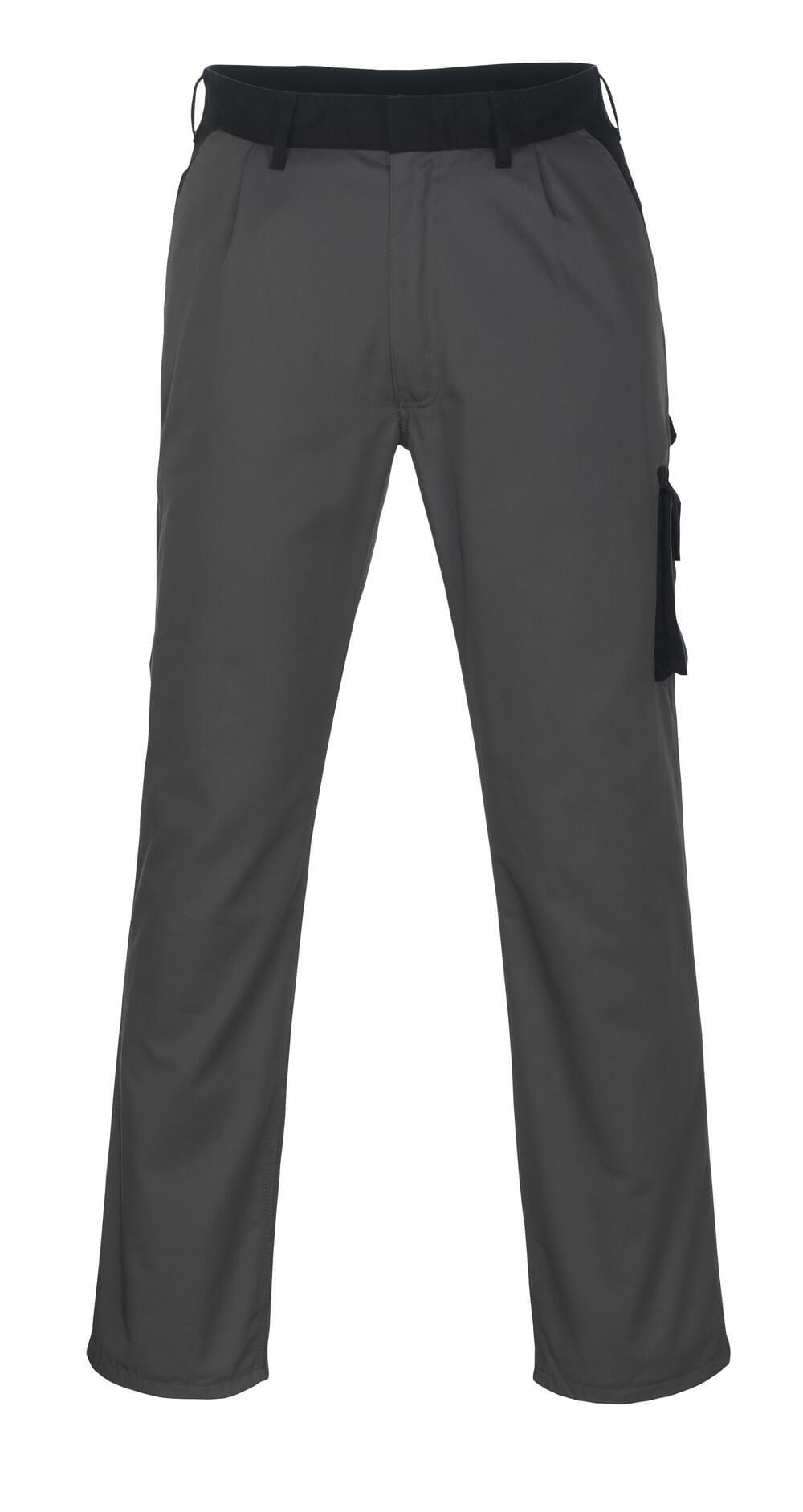 08779-442-8889 Bukser med lårlommer - antracit/sort