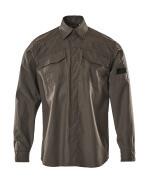 09004-142-18 Skjorte - mørk antracit